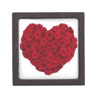 Heart shaped bunch gift box