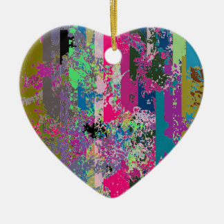 Heart Shaped Catch 52 Whirly Shuffle Ornament