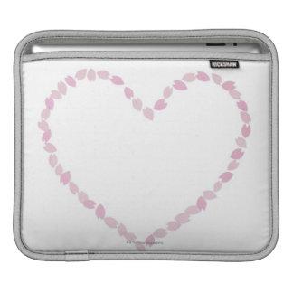 Heart Shaped Cherry Blossom Sleeve For iPads