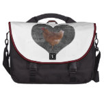 Heart Shaped Chicken Bags For Laptop
