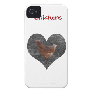 Heart Shaped Chicken Case-Mate iPhone 4 Case