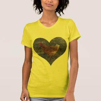 Heart Shaped Chicken Women's T Shirt