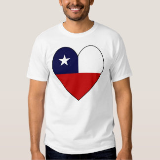 Heart-shaped Chile Flag Shirt