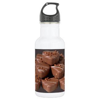 Heart Shaped Chocolates 18oz Water Bottle