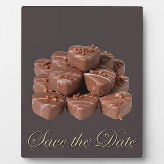 Heart Shaped Chocolates Plaque