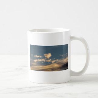 Heart shaped cloud mug