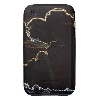 Heart-Shaped Cloudburst (D&S) iPhone 3G/3GS CM. T. Tough iPhone 3 Case