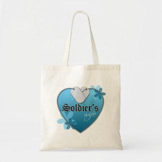 Heart Shaped Dog Tags Bags