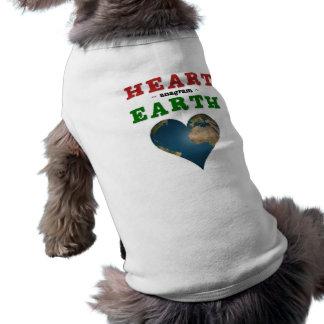 Heart shaped Earth Shirt