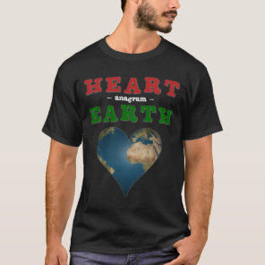 Heart shaped Earth T-Shirt