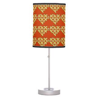 heart shaped flowers desk lamps. Black Bedroom Furniture Sets. Home Design Ideas