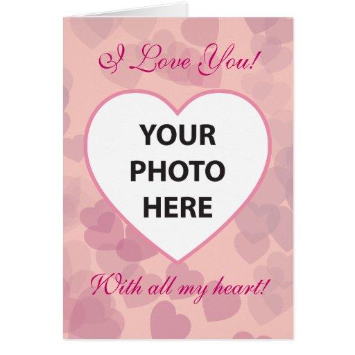 Heart Shaped Frame Card