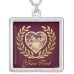Heart Shaped Frame with Wreath Jewelry