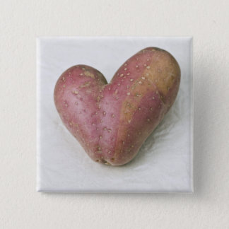 Heart-shaped Francine potato Button