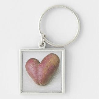 Heart-shaped Francine potato Keychain