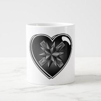 HEART SHAPED GIFT BOX GIANT COFFEE MUG