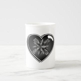HEART SHAPED GIFT BOX TEA CUP