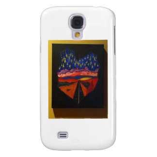 Heart shaped hands galaxy s4 cover
