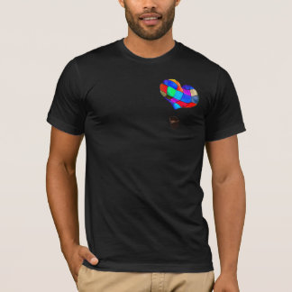 Heart-shaped Hot-air Balloon T-Shirt