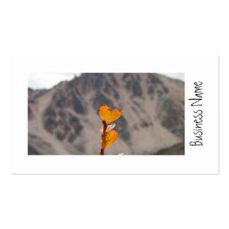 Heart-Shaped Leaf Business Card
