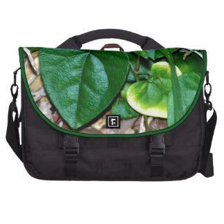Heart Shaped Leaves Vine Bags For Laptop