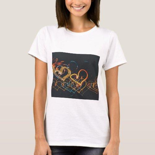 Heart_Shaped Lights T_Shirt