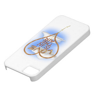 """Heart Shaped """"Love Is In The Air"""" iPhone 5 Cover"""