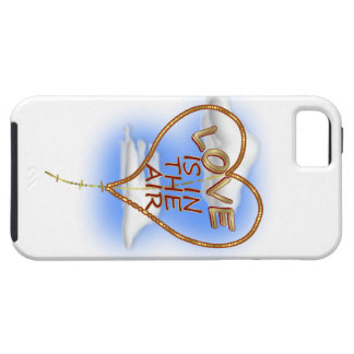 """Heart Shaped """"Love Is In The Air"""" iPhone 5 Cases"""