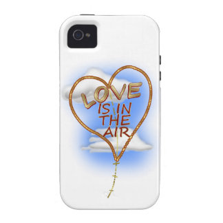 """Heart Shaped """"Love Is In The Air"""" iPhone 4/4S Cases"""