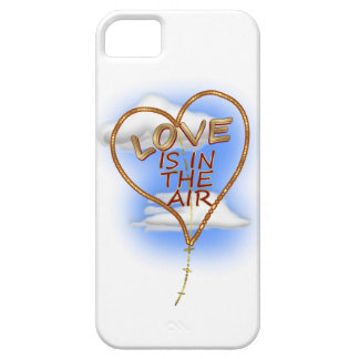 "Heart-shaped ""Love Is In The Air"" Kite iPhone SE/5/5s Case"