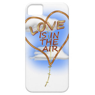 """Heart-shaped """"Love Is In The Air"""" Kite iPhone SE/5/5s Case"""