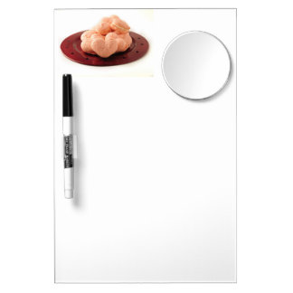 Heart Shaped Macarons Dry Erase Board With Mirror