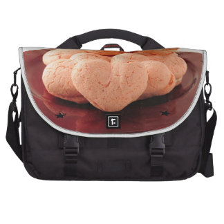 Heart Shaped Macarons Laptop Computer Bag