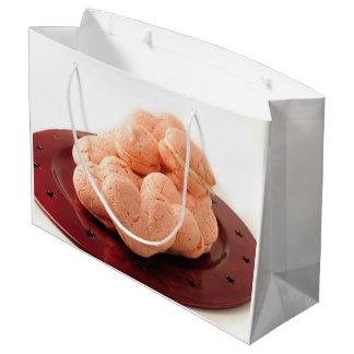 Heart Shaped Macarons Large Gift Bag
