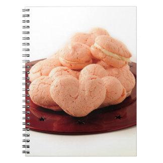 Heart Shaped Macarons Notebook