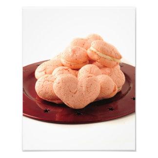 Heart Shaped Macarons Photograph