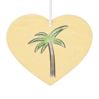 Heart shaped Palm tree Air Freshener