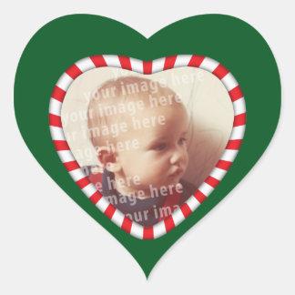 Heart Shaped Photo Frame Heart Sticker