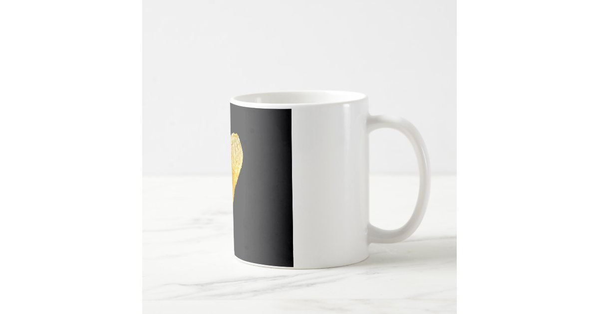 Heart Shaped Potato Chip Coffee Mug Zazzle
