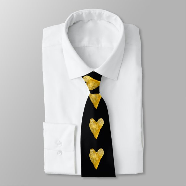 Heart Shaped Potato Chip Neck Tie Zazzle