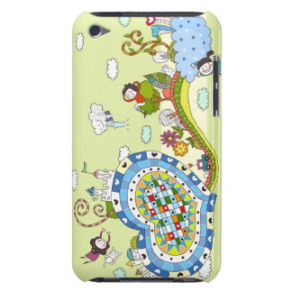 Heart -Shaped Road Barely There iPod Cases