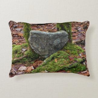 Heart-Shaped Rock Accent Pillow