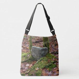 Heart-Shaped Rock Crossbody Bag