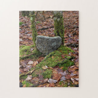 Heart-Shaped Rock Jigsaw Puzzle