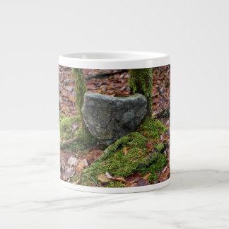 Heart-Shaped Rock Large Coffee Mug