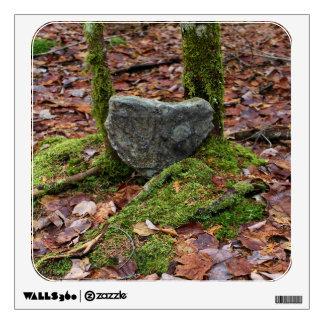 Heart-Shaped Rock Wall Sticker