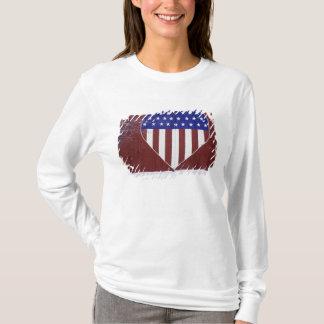 Heart-Shaped Stars and Stripes T-Shirt