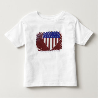 Heart-Shaped Stars and Stripes Toddler T-shirt