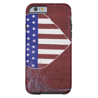 Heart-Shaped Stars and Stripes Tough iPhone 6 Case