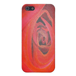 Heart Shaped Valentine Red Rose iPhone SE/5/5s Case